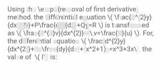 search-thumbnail-Using the \emph{removal of first derivative}
