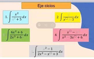 search-thumbnail-3.\int\dfrac{6x^{2}+6}{2x^{3}+6x}dx 4.\int\dfrac{x^{\square}-3}{x^{2}-3x^{\square}+6}dx