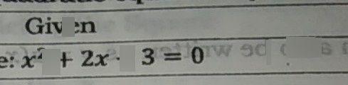 search-thumbnail-: x^{2}+2x-3=0 9d oels