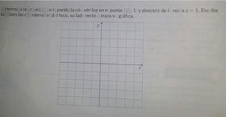 search-thumbnail-Determina la ecuación de la parábola cO\square vértice en el punto V(2 1)y directriz de la recta x=1 EsCF1bG