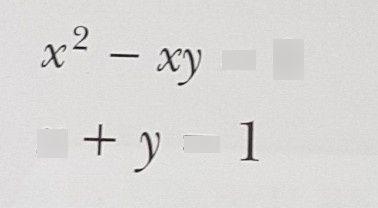 search-thumbnail-x^{2}-xy=0