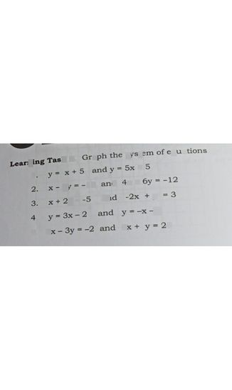 search-thumbnail-Learning Task 3 Graph the system of equations