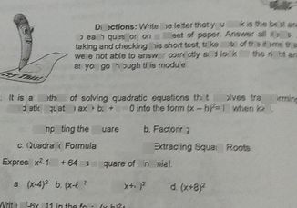 search-thumbnail-to each question on a sheet of paper. Answer all biteemsts an