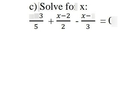 search-thumbnail-\dfrac{x+3}{5}+\dfrac{x-2}{2}-\dfrac{x-1}{3}=0