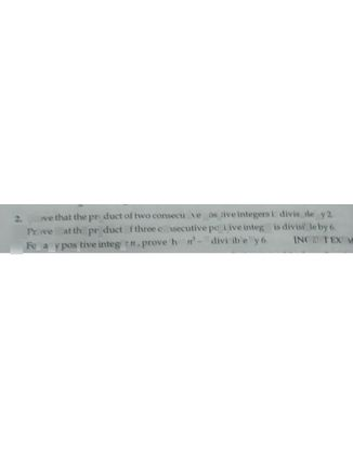 search-thumbnail-2 Prove that the product of two consecutive positive integers is divisibleby 2.